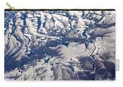 Snowy Landscape Aerial Carry-all Pouch
