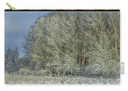 Snowy Landscape #f3 Carry-all Pouch
