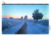 Snowy Lane Carry-all Pouch