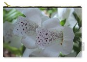 Snowy Mountain Digitalis Carry-all Pouch