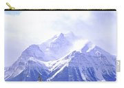 Snowy Mountain Carry-all Pouch by Elena Elisseeva