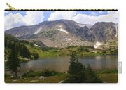 Snowy Mountain Loop 9 Carry-all Pouch by Marty Koch