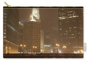 Snowy Night In Chicago Carry-all Pouch