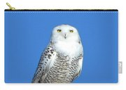 Snowy Owl 9 Carry-all Pouch