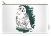 Snowy Owl II Carry-all Pouch