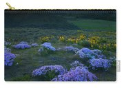 Snowy Phlox Sunset Carry-all Pouch