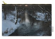 Snowy Pigeon Creek Carry-all Pouch