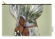 Snowy Pine Keyhole Carry-all Pouch