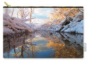 Snowy Refections Carry-all Pouch