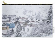 Snowy Resorts Carry-all Pouch