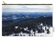Snowy Ridges - Impressions Of Mountains Carry-all Pouch