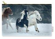 Snowy Run Carry-all Pouch