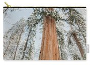 Snowy Sequoias At Calaveras Big Tree State Park 2 Carry-all Pouch