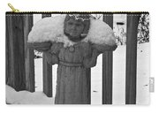 Snowy Statue Carry-all Pouch