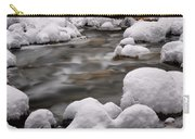 Snowy Stickney Brook Carry-all Pouch