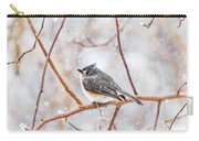Snowy Titmouse Carry-all Pouch