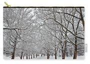 Snowy Treeline Carry-all Pouch