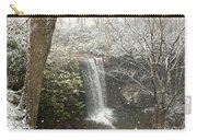 Snowy Waterfall Carry-all Pouch