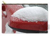 Snowy Wing Mirror Carry-all Pouch