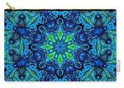 So Blue - 04v2 - Mandala Carry-all Pouch