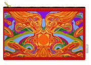 So Hot It Will Burn Your Face Off Art And Text Carry-all Pouch