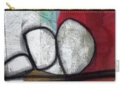 So We Begin- Abstract Art Carry-all Pouch