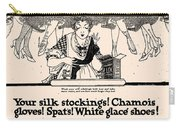 Your Silk Stockings Vintage Soap Ad Carry-all Pouch