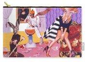 Soap Scene #20 Galleria Symbiosis Carry-all Pouch