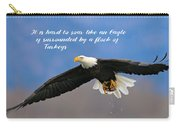 Soar Like An Eagle  If You Can Carry-all Pouch