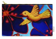 Soaring And Blooming Carry-all Pouch