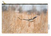 Soaring Hawk Over Field Carry-all Pouch
