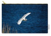 Soaring Snowy Egret  Carry-all Pouch