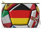 Soccer Ball With Flag Of German In The Center Carry-all Pouch