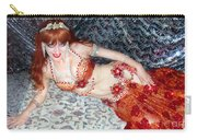 Sofia Metal Queen. Ameynra Bellydance Star Model Carry-all Pouch