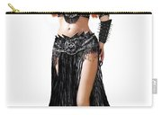 Sofia Metal Queen. Black Metal. Bellydance Star Fashion Carry-all Pouch