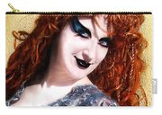 Sofia Metal Queen. Fashion Portrait Carry-all Pouch
