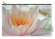 Soft And Delicate Water Lily Carry-all Pouch