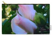 Soft And Gentle Rose Of Sharon Carry-all Pouch