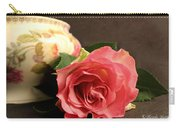 Soft Antique Rose Carry-all Pouch