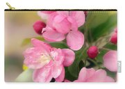 Soft Apple Blossom Carry-all Pouch