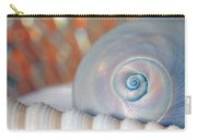 Soft Colored Shells Carry-all Pouch