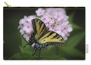 Soft Focus Tiger Swallowtail Carry-all Pouch