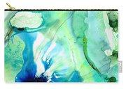 Soft Green Art - Gentle Guidance - Sharon Cummings Carry-all Pouch