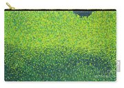 Soft Green Wet Trees Carry-all Pouch