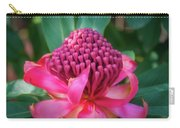 Soft Light On A Wild Pink Waratah Carry-all Pouch