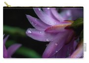 Soft Macro Of Purple Flower Carry-all Pouch