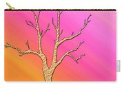 Soft Pastel Tree Abstract Carry-all Pouch