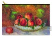 Soft Peaches Still Life Carry-all Pouch