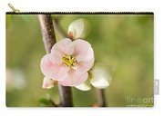 Pink Quince Blossom Carry-all Pouch