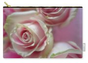 Soft Pink Roses Carry-all Pouch